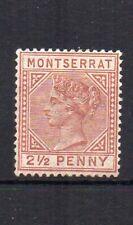 Montserrat 1884-85 2 1/2 d MH