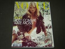 2008 APRIL VOGUE PARIS MAGAZINE - KATE MOSS COVER - FASHION MODELS - O 7318