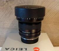 """Leitz 11213 - Leitz Leica Super Elmar-R 1:3.5/15mm """"1a Sammlerstück"""" - TOP!"""