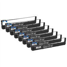8PK Compatible Panasonic Black Printer Ribbon, KX-P170 KX-P3626 KX-P3696