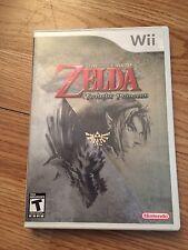 The Legend of Zelda: Twilight Princess Nintendo Wii Cib Complete NG2