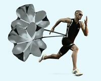 Speed Training Parachute Running Resistance Chute Power Exercise Football Sports