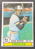 1979 Topps Eddie Murray Baseball Card #640 MLB HOF, Good Condition See Pics