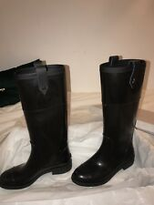 Jimmy Choo boots wellies Edith Flat size 40 BNWT With box & duster bags.