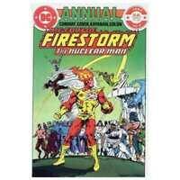 Fury of Firestorm (1982 series) Annual #2 in NM minus condition. DC comics [*us]