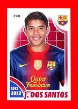 FC BARCELONA 2012-2013 Panini - Figurina-Sticker n. 133 - SANTOS -New