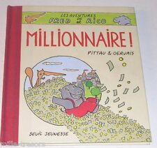 MILLIONNAIRE - Les Aventures de FRED et RICO - PITTAU & GERVAIS