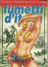 Rivista FUMETTI D'ITALIA n.28 (con Vartan, Dampyr, Angiolini, Akim..)