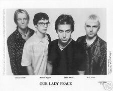 Our Lady Peace Promo Photo #2 publicity press 8X10