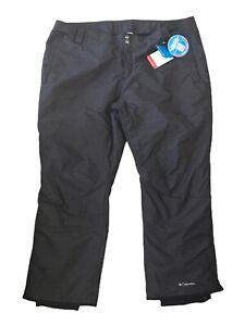 Columbia Omni Tech Sleek Heat Women's Snow Ski Winter Pants 3X Gray MSRP $140
