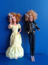 PAIR OF 1981 MAGIC CURL BARBIE DOLLS- SUPERSTAR FACE MOLD