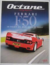 Octane magazine 01/2013 featuring Ferrari, Ford, Hudson, Jaguar