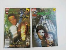 X-Files, The #40SC NM+ & #1 First Collectors cover NM - 2 pack Free shipping