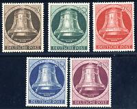 BERLIN 1951, MiNr. 75-79, postfrischer Kabinettsatz, Mi. 100,-