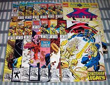 Lot of 15 X-FACTOR Comics from #76- 90 + Annual #6 with Quicksilver from 1991 up