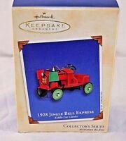 Hallmark Keepsake Ornaments 1925 Jingle Bell Express Kiddie Car Classics  2002
