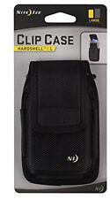 Nite Ize Large Clip Case Hardshell Holster Black Rugged Nylon Phone Case Pouch