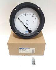 "Wika 4375803 Type: 700.05 4.5"" 0-15psid 1/4"" FNPT  Differential Pressure Gauge"