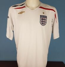 Authentic England 2007 - 2009 Home Shirt Size XL Umbro World Cup (066)