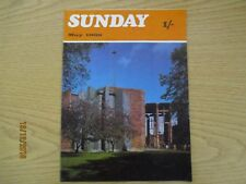 May 1969, SUNDAY, George Townsend, Kenneth Greet, Douglas Carter, Noel Pyatt.