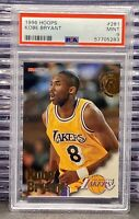 🔥1996-97 Hoops Kobe Bryant # 281 Rookie Card PSA 9 MINT RC Mamba🐍HOF Lakers🐐