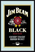 Jim Beam Whisky Mirror Wall Mirror, bar, Party Basement, 7 7/8x11 13/16in
