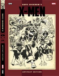 IDW Dave Cockrum X-Men Artifact Edition Book - Hardcover HC - Brand New