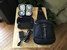 PSP 3001 32GB Card w/ Charger, Bag, New Battery & Games. Bundle.