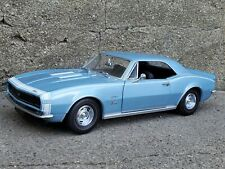 Lane Exact Detail 1967 Chevy Camaro RS/SS 1:18 Scale Diecast Model '67 Car Blue