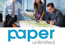 """4 Rolls 24 LB Coated Bond 17"""" x 150' Inkjet Presentation Paper For Epson Printer"""