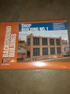 Sealed NIB Walthers Cornerstone HO Background Shop Building No.1 KIT #933-3165