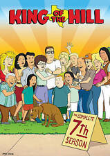 King of the Hill: The Complete 7th Season (DVD, 2014, 3-Disc Set) seventh new 7