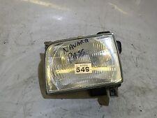 Nissan Navara D22 1998-2001 lado del pasajero delantero cabeza luz Lámpara Lente Unidad #549