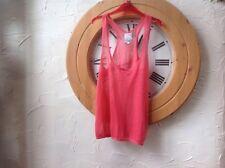L@@K Lola Espeleta Size 2 (M) Peach Orange Vest Top **New WT**RRP £42.99