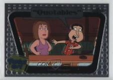 2011 Leaf Family Guy Seasons 3-5 Quotables #Q04 Leathal Weapons Card 1x0