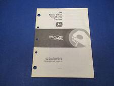 John Deere Operators Manual #Om-M73990 Iss May88 246 Rotary Broom 50 Serie M1422