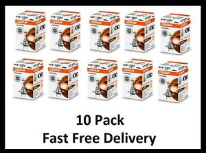 10 Pack OSRAM H7 64210 12v 55W Car Headlight Globe Bulb German Quality