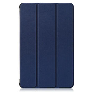 Navy Blue Case For Lenovo Tab M10 Plus 10.3in HD Tablet Cover Leather Stand