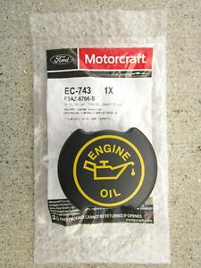 FORD 3FAZ-6766-B 3FAZ6766B MOTORCRAFT EC-743 EC743 ENGINE OIL FILLER CAP OEM NEW
