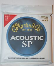 MARTIN & Co Jeu cordes Guitare Acoustique SP - 80/20 Bronze .012 - .054 MSP3100