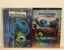 Monsters, INC. & Monsters University 2 DVD Movies (Free USPS Shipping)