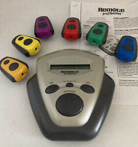 2002 Hasbro Remote Possibilities Game Tested Working Complete
