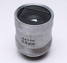 Canon Rangefinder 28Mm View Finder Shoe Mount