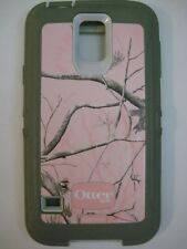 OTTER BOX DEFENDER case cover cell phone SAMSUNG GALAXY S5 Pink Camo Realtree 50