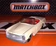 Vintage Matchbox Lesney Clean Straight #27 Mercedes Benz Die Cast Chassis & Body