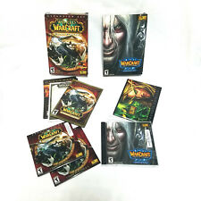 Lot of 2 World of Warcraft Expansion Set - Mists of Pandaria + The Frozen Throne