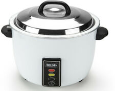Aroma 60 Cup Commercial Rice Cooker Big Large Business Restaurant Countertop Pot