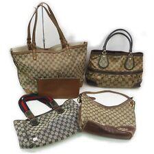 Gucci PVC Canvas Hand Bag Shoulder Bag 4 pieces set 517688