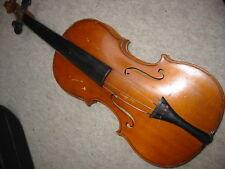 Nicely flamed, old 4/4 Violin violon!