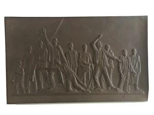 Meissen Bottger Holocaust Monument Fritz Cemer Shoah War Plaque